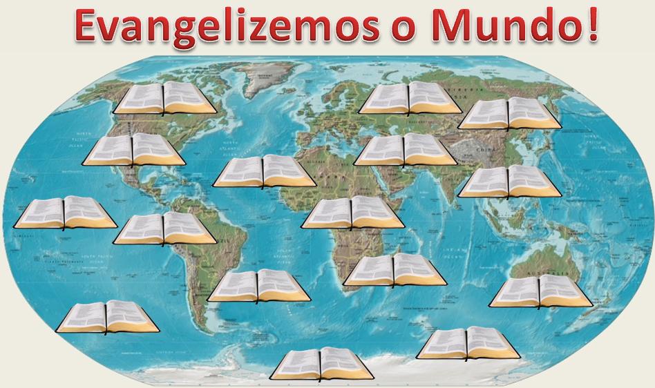 Resultado de imagem para Evangelização Mundial